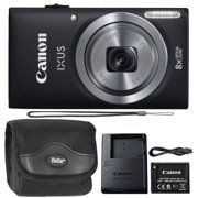 Canon Powershot Ixus 185 / ELPH 180 20MP Compact Digital Camera Black with Camera Case - Best Reviews Guide