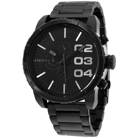 Diesel Men's Double Down 51 Watch Quartz Mineral Crystal DZ4207