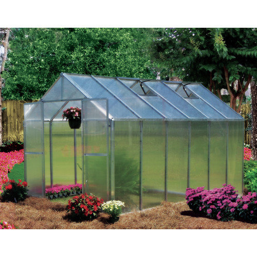 Riverstone Industries Monticello 8 Ft. W x 12 Ft. D Polycarbonate Greenhouse