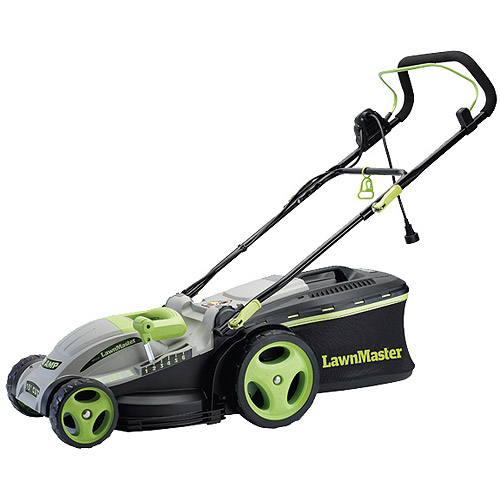 "LawnMaster 10-Amp 15"" Electric Mulching Mower"