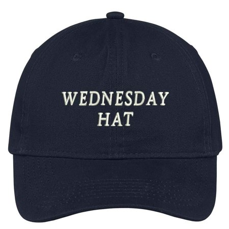 aea34cb997233 Trendy Apparel Shop Wednesday Hat Embroidered Soft Cotton Low Profile Dad  Hat Baseball Cap - Walmart.com