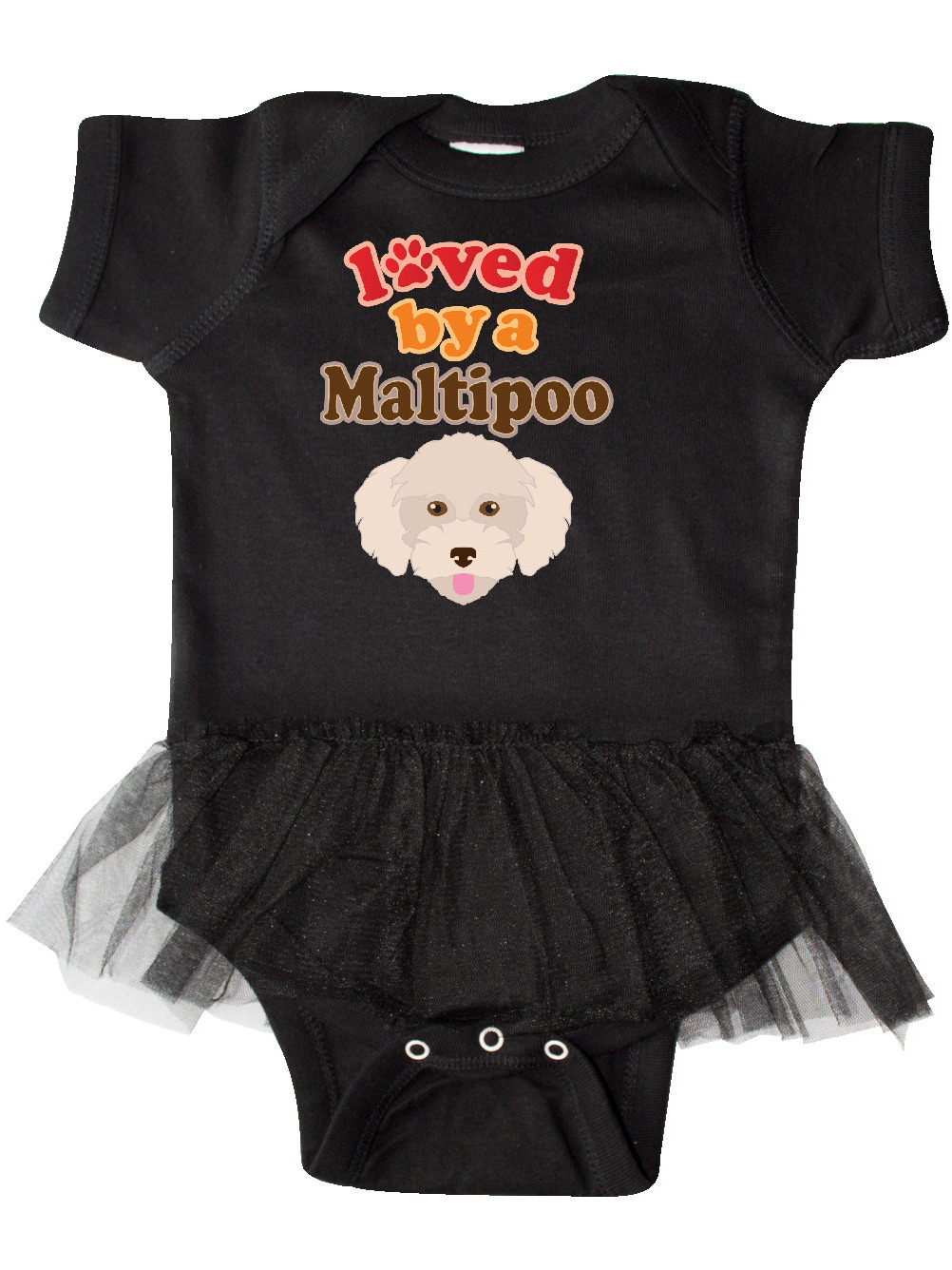 CUTE One Piece Baby Bodysuit MALTESE CROSS