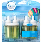 Febreze NOTICEables Fresh Sky Scented Oil Refills, 0.87 fl oz, 2 count