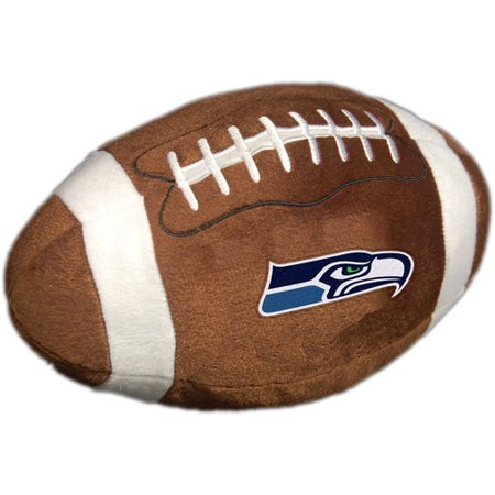 Nfl Plush Football Pillow Seattle Seahawks Walmart Com