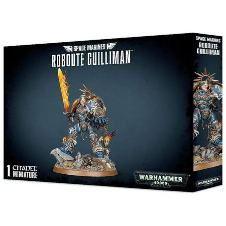 Warhammer Fantasy Miniatures - Warhammer 40,000 Space Marines Roboute Guilliman Miniatures