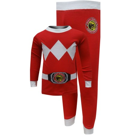 Red Power Ranger Pajamas (Mighty Morphin Power Rangers Red Ranger)
