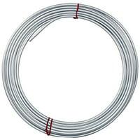 4LIFETIMELINES Galvanized Steel Brake, Fuel, Transmission Line Tubing Coil, 1/4 x 25