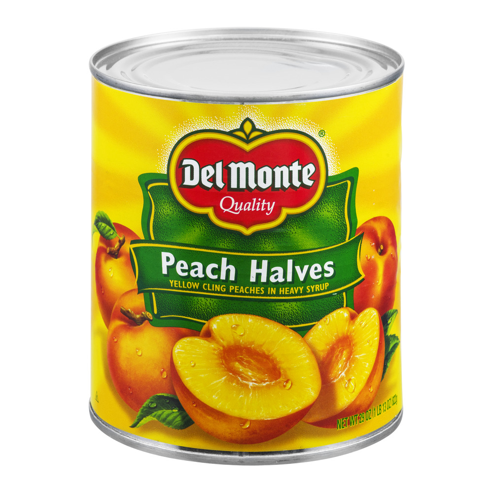 Del Monte Peach Halves, 29.0 OZ