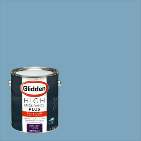 Glidden High Endurance Plus Exterior Paint And Primer Country House Blue 90bg 38 185