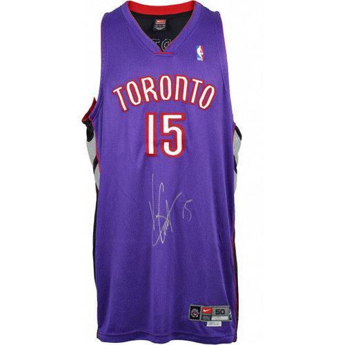 NBA - Vince Carter Autographed Jersey