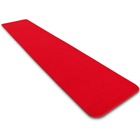 Red Carpet Aisle Runner - 3' x 10' - Many Other Sizes to Choose From