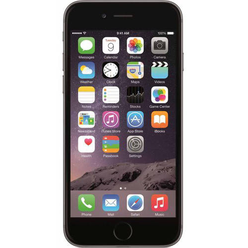 Apple iPhone 6 16GB Refurbished Smartphone, Gray by Apple