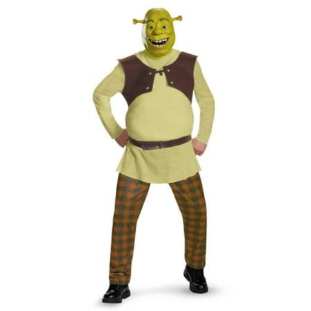 Shrek Deluxe Adult Costume - X-Large (42-46) - Mens Sheep Costume