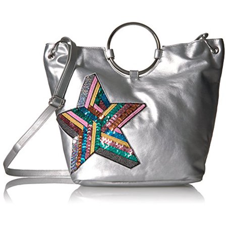 T-Shirt & Jeans Ring Tote with Sequin Star (Ring Bearer Tote)
