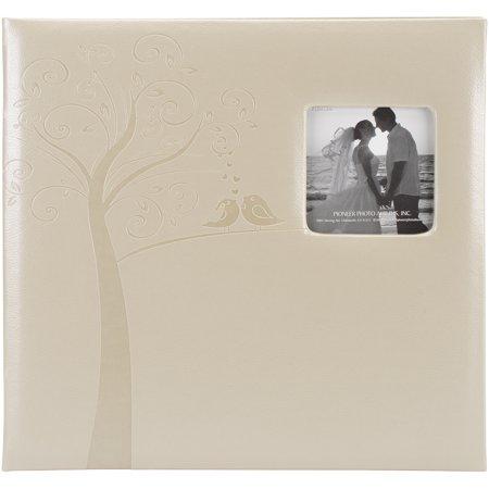 Embossed Wedding Post Bound Album, 12