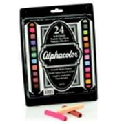 Alphacolor Multicultural Portrait Square Pastel Set - 2.75 x 0.43 in. - Set 24