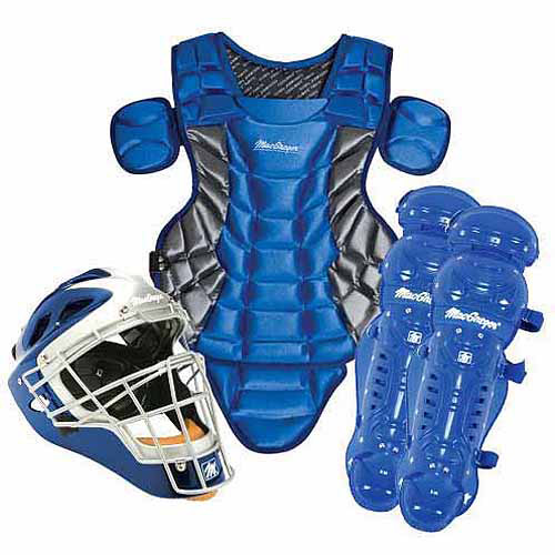 Prep Catcher's Gear Pack in Royal Blue/Silver (Ages 12-15)