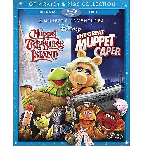 GREAT MUPPET CAPER/MUPPET TREASURE ISLAND 2 MOVIE COLL (BR/DVD/DC/2PK)