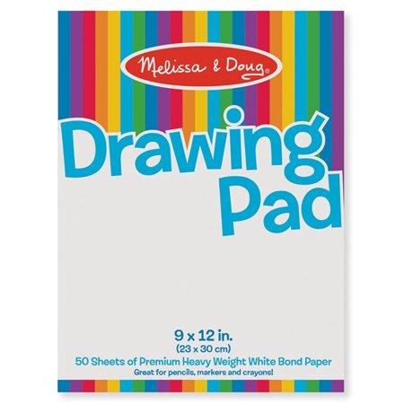 DRAWING PAD 9 X 12 - Melissa And Doug Tabletop Easel