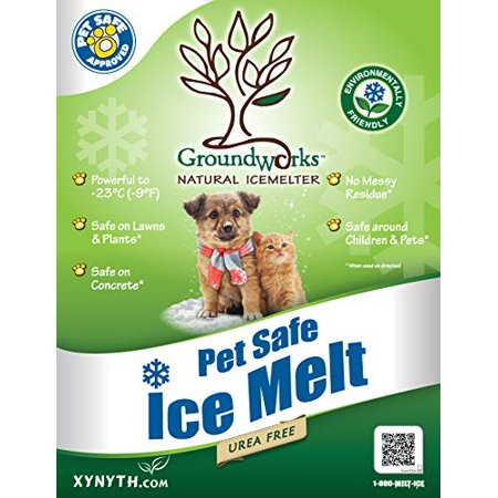 Image of product image GroundWorks All Natural Ice Melt Child, Pet, Plant and Concrete Safe Fast Acting 10 Pound Bag 20021007