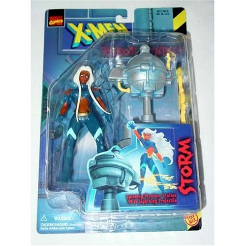 X-Men Robot Fighters Storm, Spinning Weather Station with Lightning Projectile By X Men by