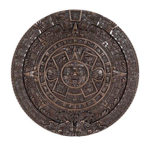 Center decorative table cloths with Aztec /& Mayan calendars.