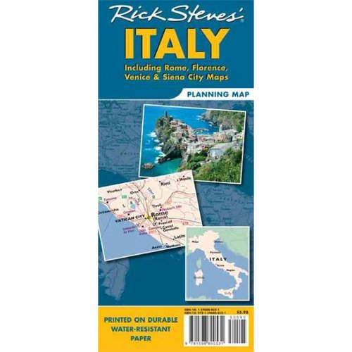 Rick Steves' Italy: Including Rome, Florence, Venice & Siena City Maps
