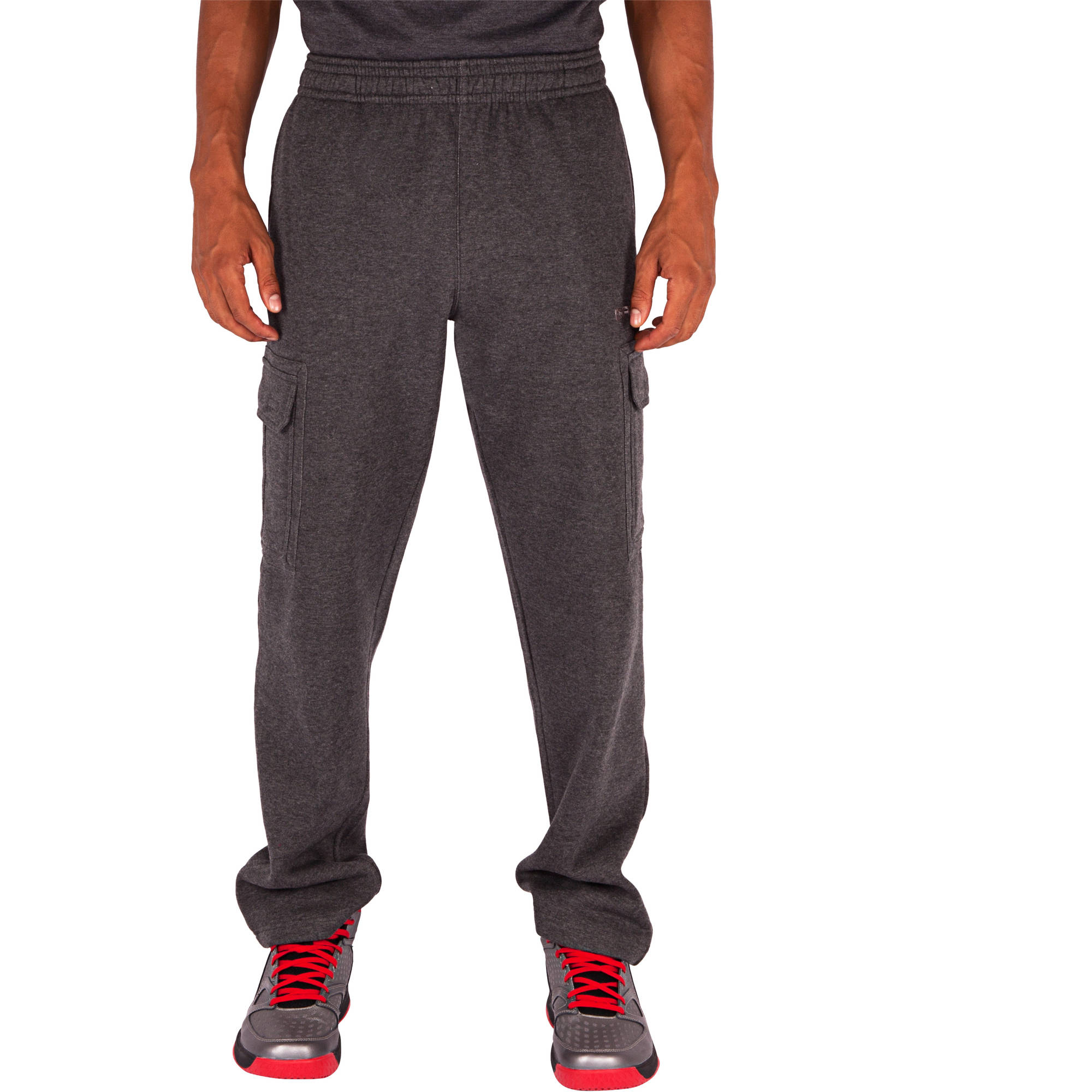 And1 Big Men's Double Team Fleece Cargo Pant
