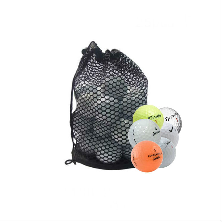Assorted Recycled Mesh Bag Golf Balls Mix Models- 100 Pack by