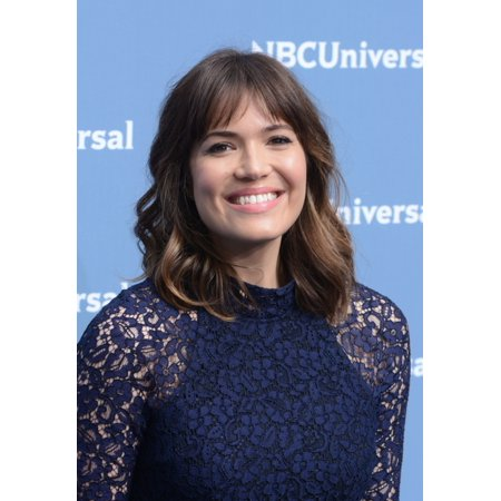 Mandy Moore At Arrivals For Nbc Upfronts 2016   Part 2 Rolled Canvas Art     8 X 10