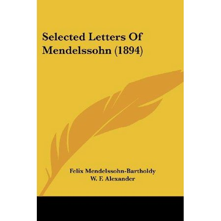 Selected Letters of Mendelssohn (1894) - image 1 of 1