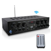 Best Home Stereo Receivers - Upgraded 2018 Wireless Bluetooth Karaoke - 6 Channel Review