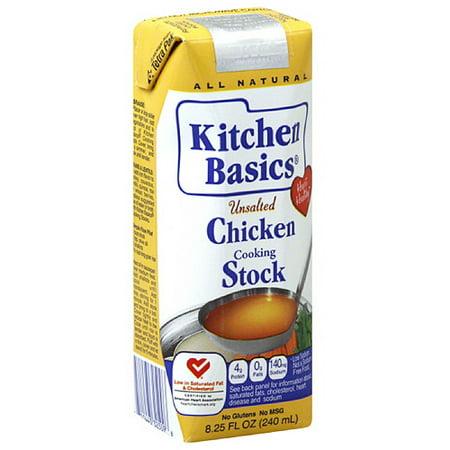 Kitchen Basics Cooking Chicken Stock, 8.25 fl oz, (Pack of 12 ...