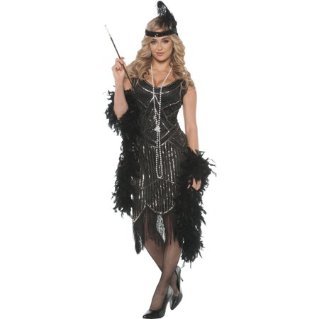 Gatsby Girl Women's Adult Halloween Costume (Men Gatsby Costume)