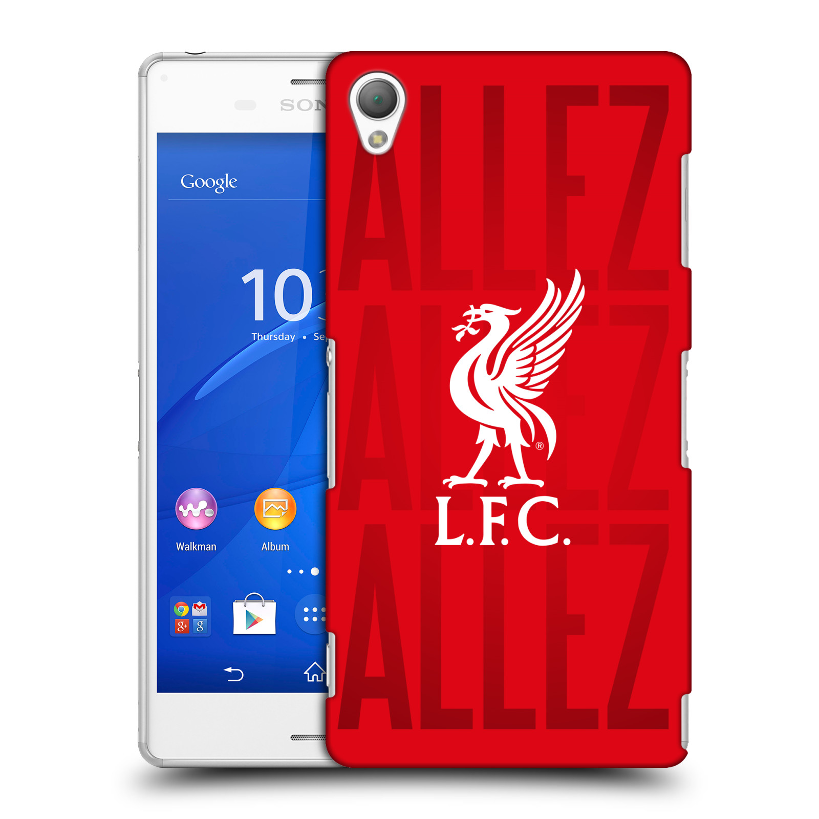 OFFICIAL LIVERPOOL FOOTBALL CLUB 2017/18 KINGS OF EUROPE HARD BACK CASE FOR SONY PHONES 2