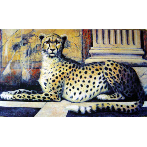 Custom Printed Rugs Cheetah Doormat