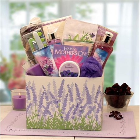 Gift Basket Drop Shipping 8413812md Mothers Day Moments Of Relaxation Lavender Spa Gift Box