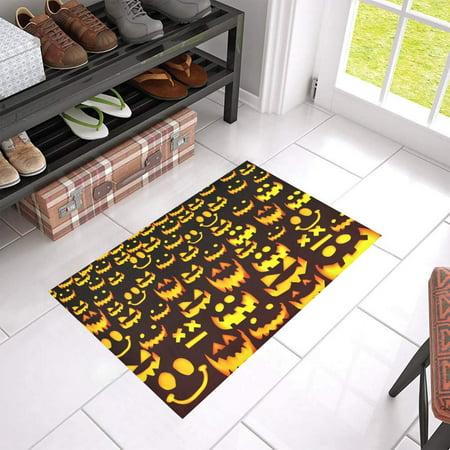 100 Floors Halloween Season Floor 7 (MKHERT Halloween Pumpkin Doormat Rug Home Decor Floor Mat Bath Mat 23.6x15.7)