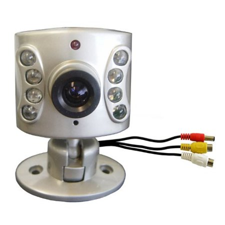 Wisecomm OC960 Mini Indoor Night Vision Color Security Camera with Audio and Adjusthle Lens - Mini (Silver) for $<!---->