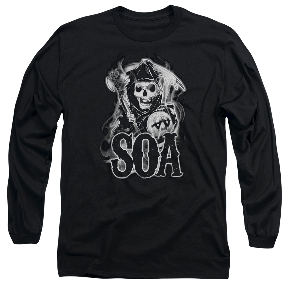 Sons Of Anarchy Smoky Reaper Mens Long Sleeve Shirt