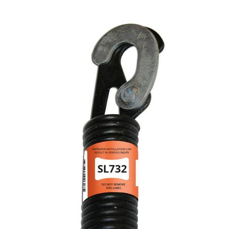 Reelcraft Spring - E900 HARDWARE SL732-C 32-Inch Lock-End Garage Door Spring (.177