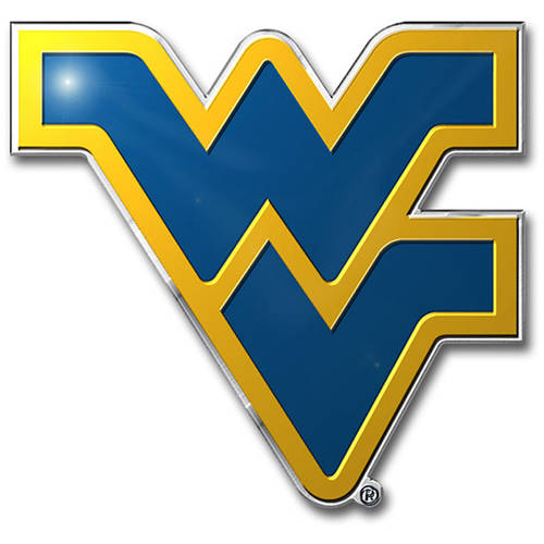 NCAA West Virginia Mountaineers Color Bling Emblem