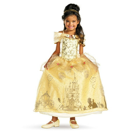 Belle Prestige Child Halloween Costume](Li Shang Costume)
