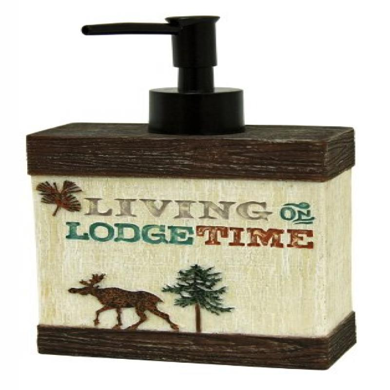 Click here to buy Bacova Guild Live Love Lodge Bath Accessories.
