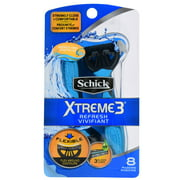 Schick Xtreme3 Refresh Men's Disposable Razors (Choose Your Count)