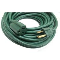 Hyper Tough 50-Feet 16/3 SJTW Green Outdoor Extension Cord