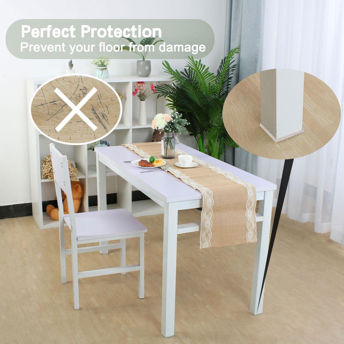 "Furniture Pads Square 1 5/8"" Self-stick for Furniture Floor Protector 12pcs - image 6 de 7"