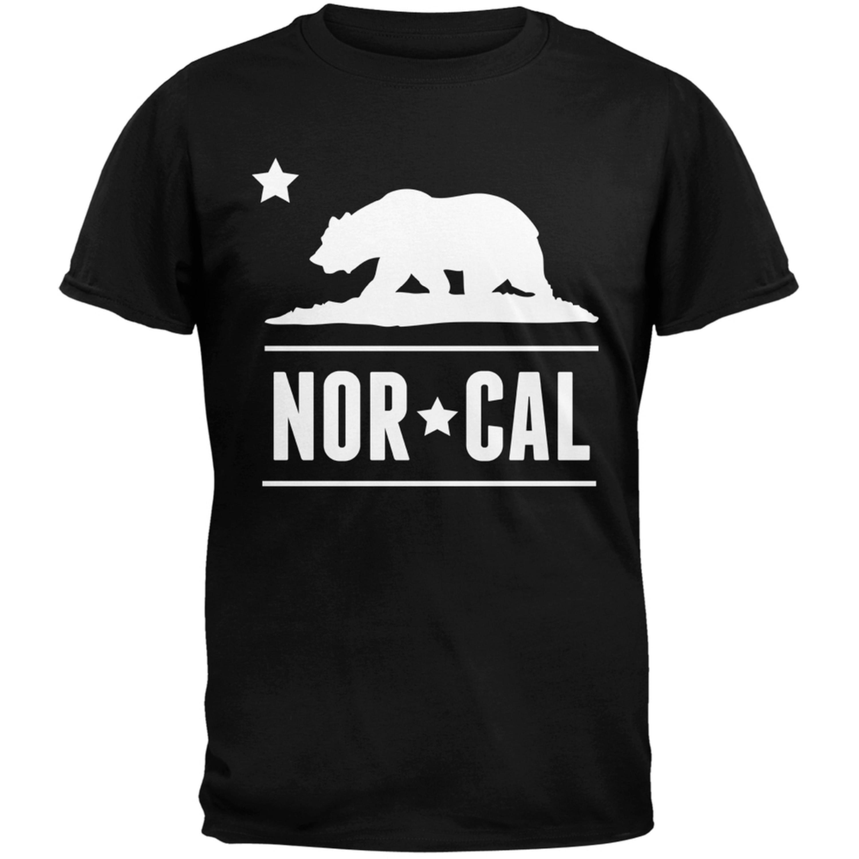 California Republic NorCal Black T-Shirt