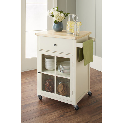 10 Spring Street Kitchen Cart, Multiple Colors by