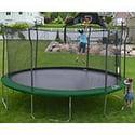 "Propel Trampoline 15"" Round Trampoline w/ Enclosure & Accessory Bundle"